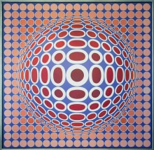 <strong>Victor Vasarely</strong>  TUZ 2-4
